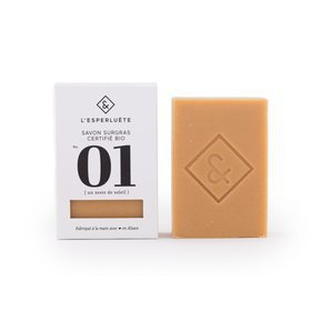 Savon Bio un zeste de soleil, Orange, bergamote, lemongrass